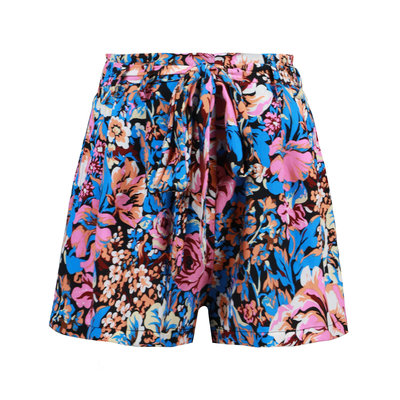 JAIMY Talia printed shorts blue