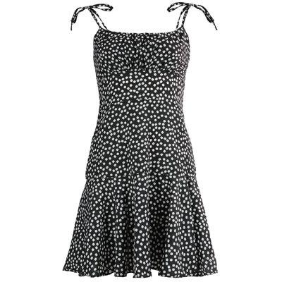JAIMY Noemi flower print dress black
