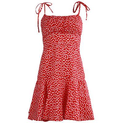 JAIMY Noemi flower print dress red