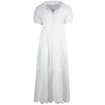 JAIMY Aria crochet dress white