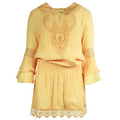JAIMY Luella crochet dress yellow