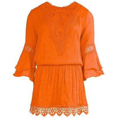 JAIMY Luella crochet dress orange