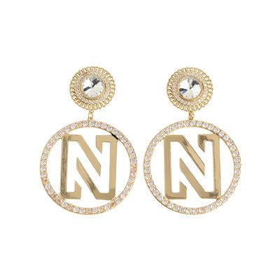 NIKKIE Pixie earrings gold/silver