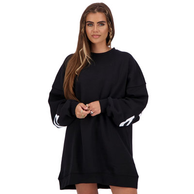 REINDERS Yara fay sweater dress true black