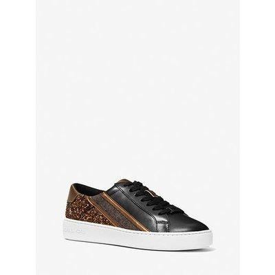 MICHAEL KORS Slade lace up sneaker black/bronze