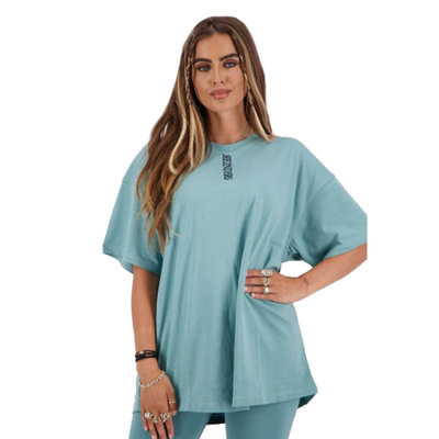 REINDERS Livia t shirt one size mineral blue
