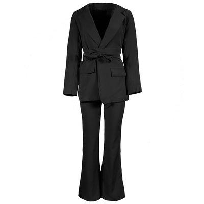 JAIMY Naomi flared suit black
