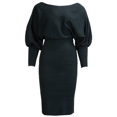 JAIMY Fav knitwear dress black