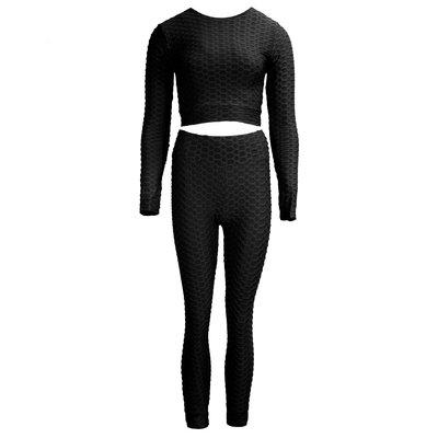 JAIMY Longsleeve 2-piece sport set black