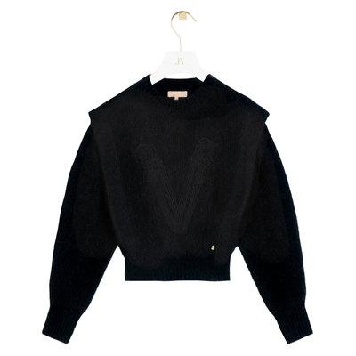 JOSH V Lane sweater black