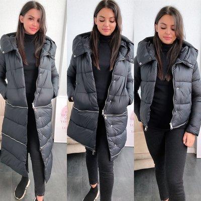 JAIMY Puffer 3 ways to wear jacket black