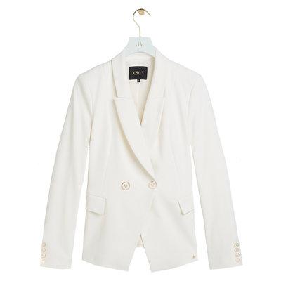 JOSH V Zoya blazer off white
