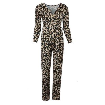 JAIMY Leopard travel jumpsuit