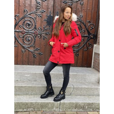 JAIMY Miss parka red