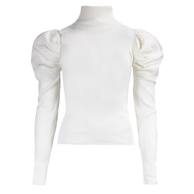 JAIMY Sophie col top offwhite