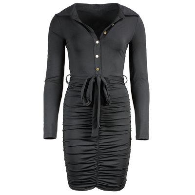 JAIMY Travel Unique Dress Black