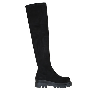 JAIMY Bente suede look overknee boots