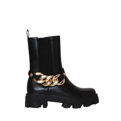 JAIMY The chain chelsea boots black