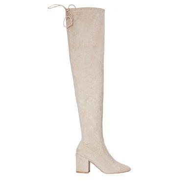 JAIMY Elin overknee boots beige