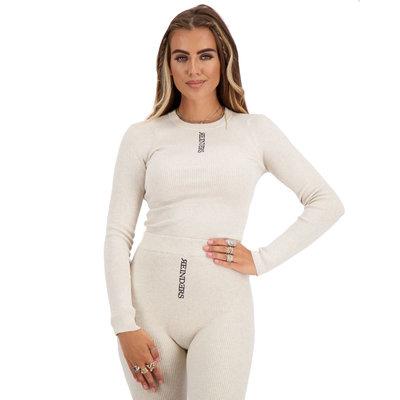 REINDERS Livia top knitwear long sleeves creme
