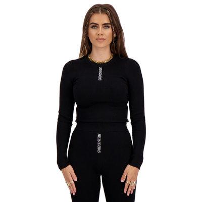 REINDERS Livia top knitwear long sleeves true black