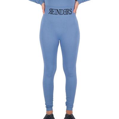 REINDERS Sport legging long Reinders print on knees dark blue