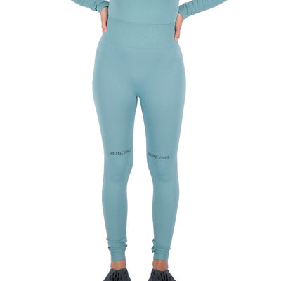 REINDERS Sport legging long Reinders print on knees mineral blue