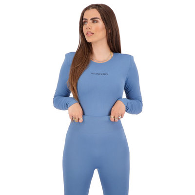 REINDERS Body Reinders shoulder pads long sleeves dark blue