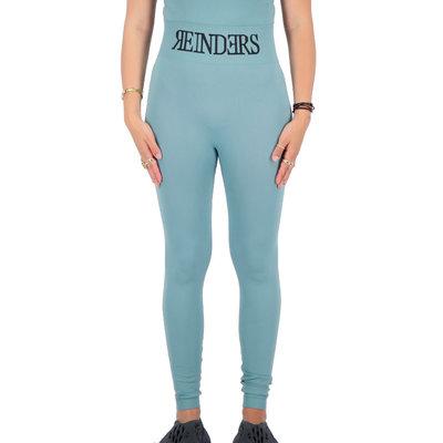 REINDERS Sport legging long Reinders in waist mineral blue