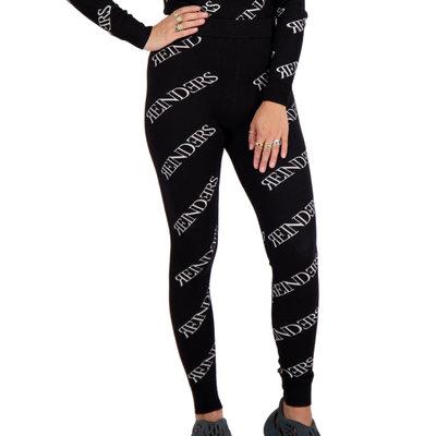REINDERS Pants all over print true black