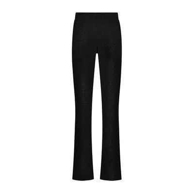 NIKKIE Sparkling flare pants black