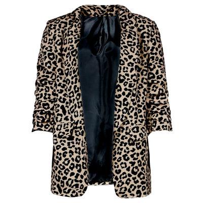 JAIMY Gia leopard blazer beige