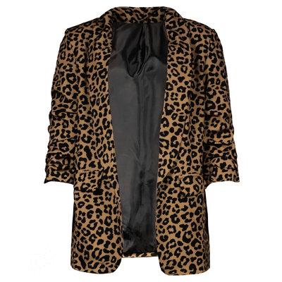 JAIMY Gia leopard blazer camel