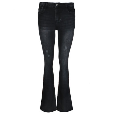 JAIMY Flared jeans black