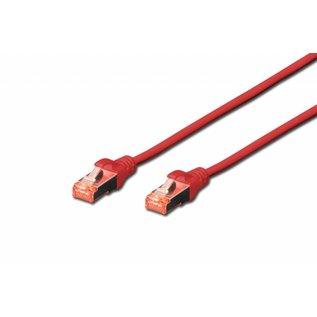 S-FTP kabel gegoten CAT 6 rood