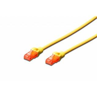 UTP kabel gegoten CAT 6 geel