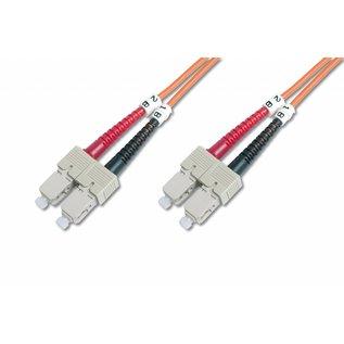Glasvezelkabel OM1 62,5/125 Multimode   SC/SC