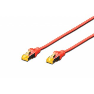 S-FTP kabel gegoten CAT 6A rood