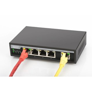 PoE 10/100 4 port Switch + 1x Uplink