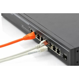 PoE 10/100/1000 8 port rack mountable Switch + 1x SFP Uplink