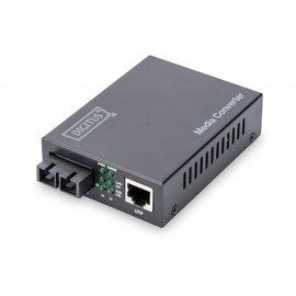 Media Converter Multimode  10/100/1000 RJ45 / SC  0,5 km