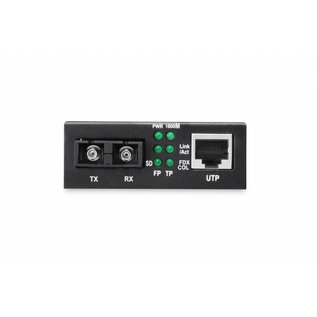 Media Converter Multimode  10/100/1000 RJ45 / SC  0,5 km