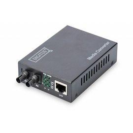 Media Converter Multimode 10/100/1000 RJ45 / ST