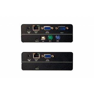 Combo KVM Extender met USB en PS/2