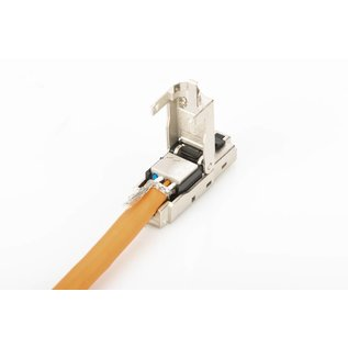 RJ45 plug Cat.6A  shieled field assembly
