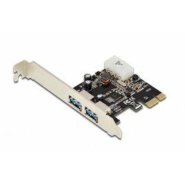 USB 3.0, 2-Port, PCI Express Add-On card