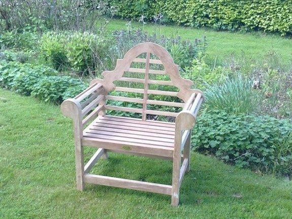 Teak tuinstoel Luytjens