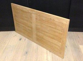 PuurTeak tafelblad 75x130