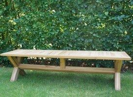 Teak picknick bank 180cm