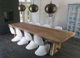 Boomstam tafel 380cm